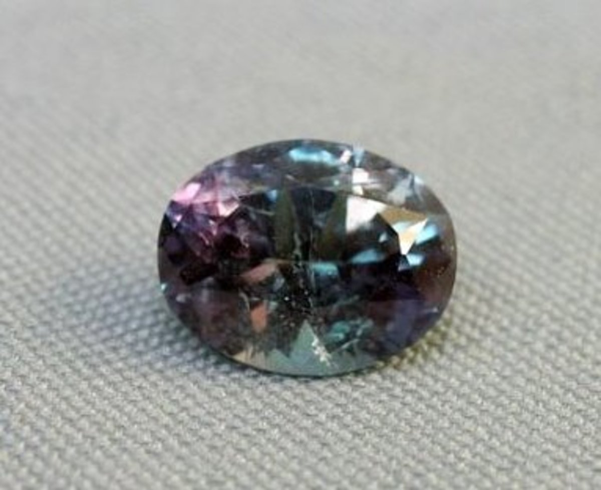 As the light changes, so does alexandrite. You have to see it to believe it.