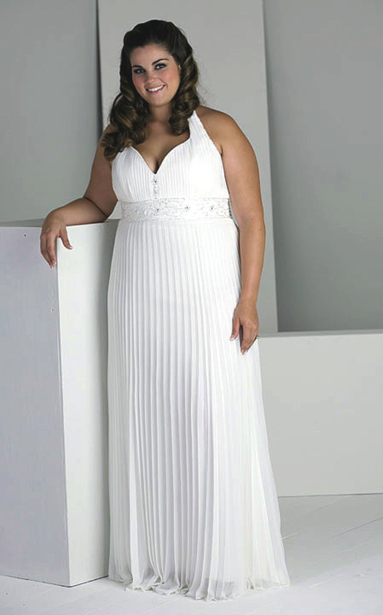 Fabric: Chiffon. Color: White, Ivory.