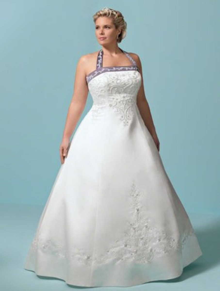 Strapless Princess Line Gown from the Alfred Angelo Plus Size Bridal Collection