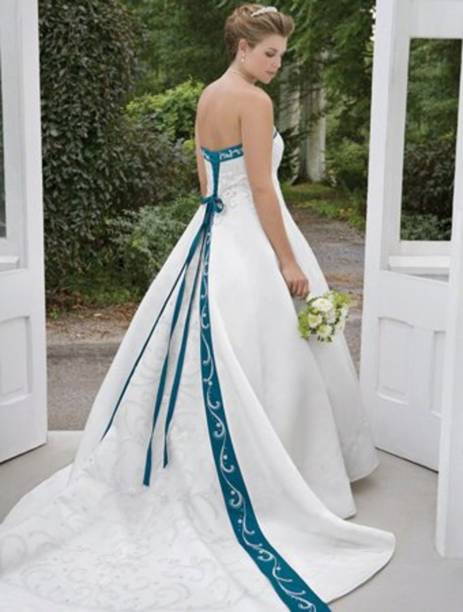 Back of the dress above