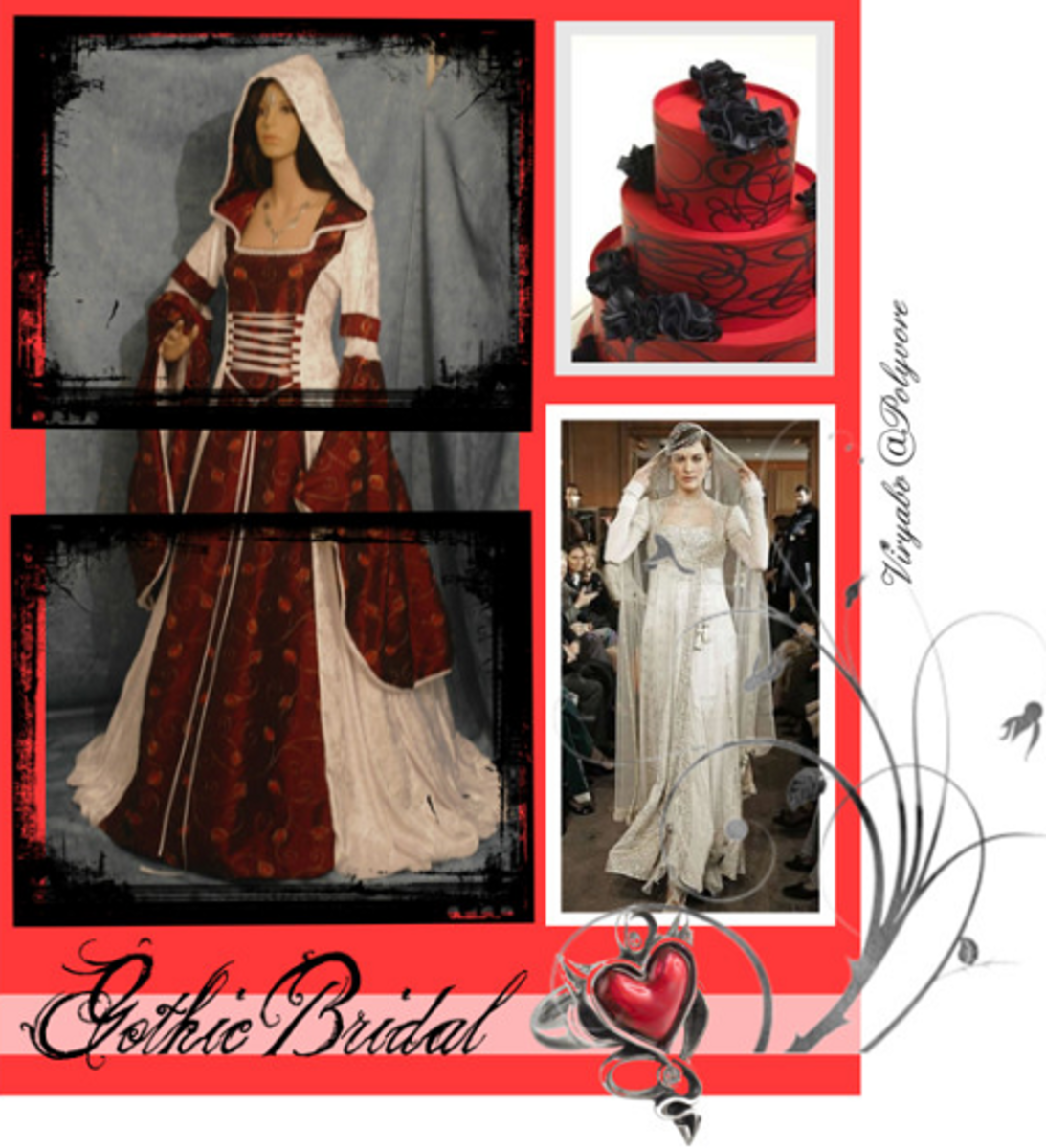 Wedding Gown Styles - Middle Ages to the 20th Century