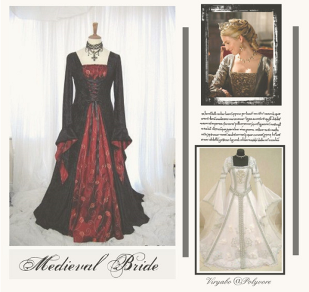Wedding Gown Styles - Middle Ages to the 20th Century | HubPages