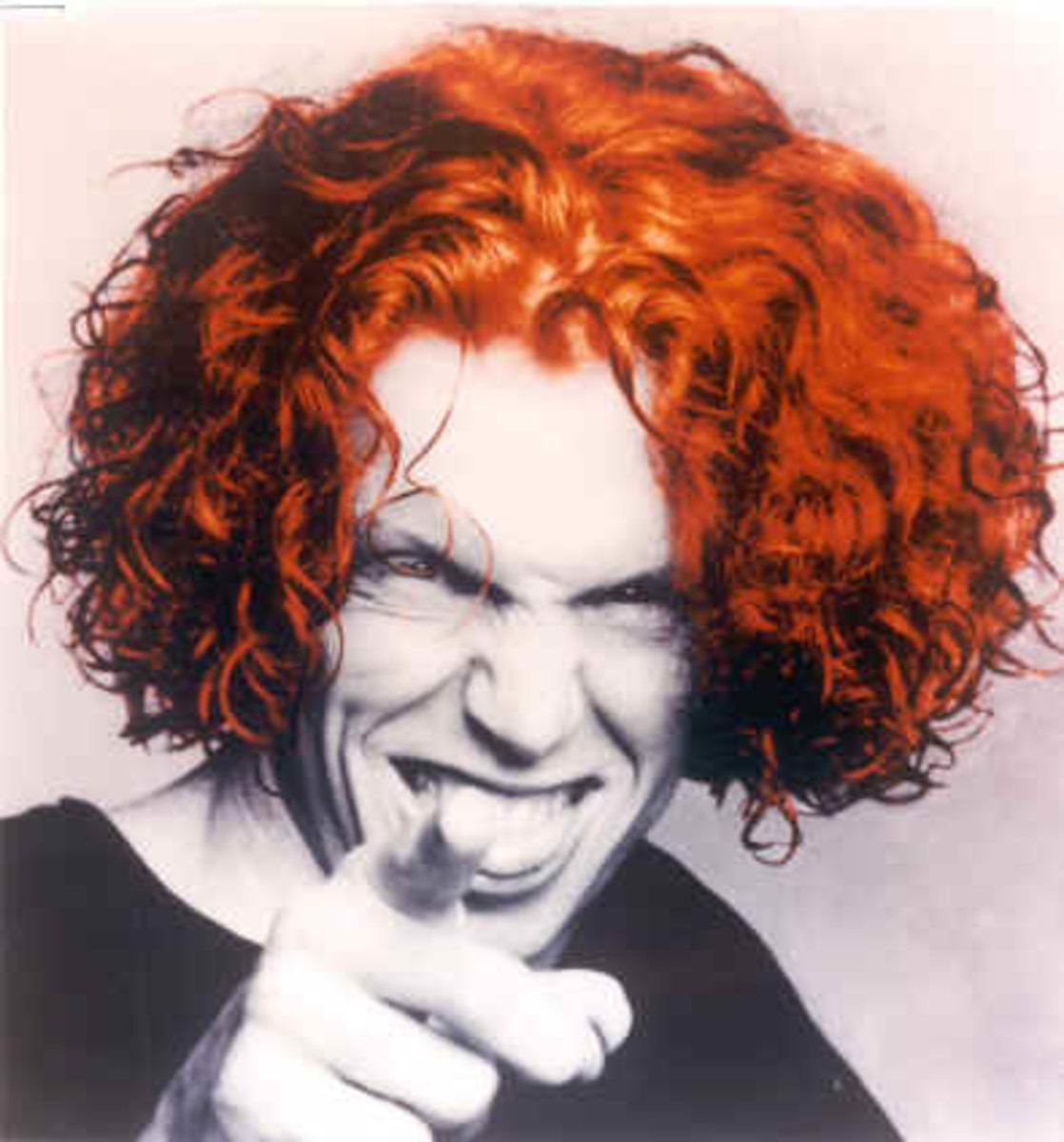 Carrot Top. Guys like this give the rest of us redheads a bad name.