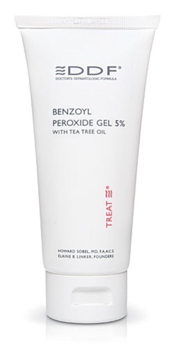 Benzoyl peroxide to treat hormonal acne [http://skincarerx.com/DDF-Benzoyl-Peroxide-Gel-5%25.html]