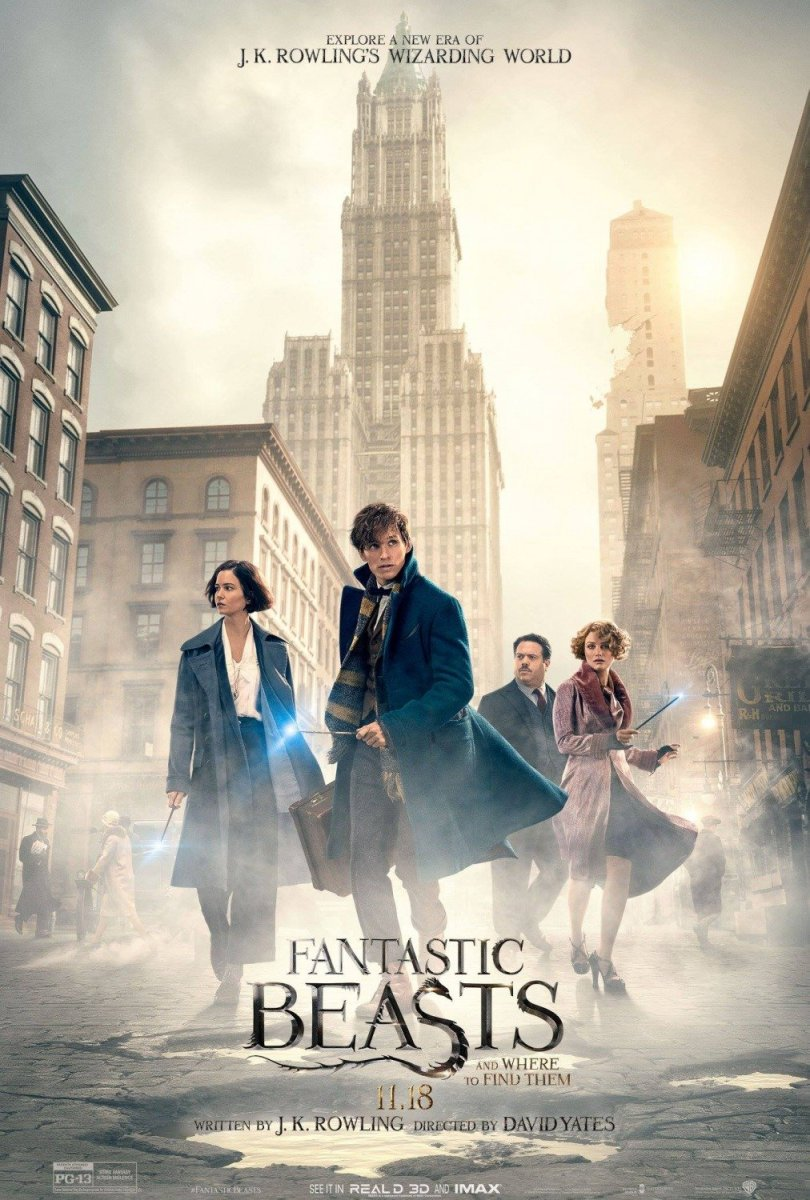 "Movie Review: ""Fantastic Beasts and Where to Find Them"""