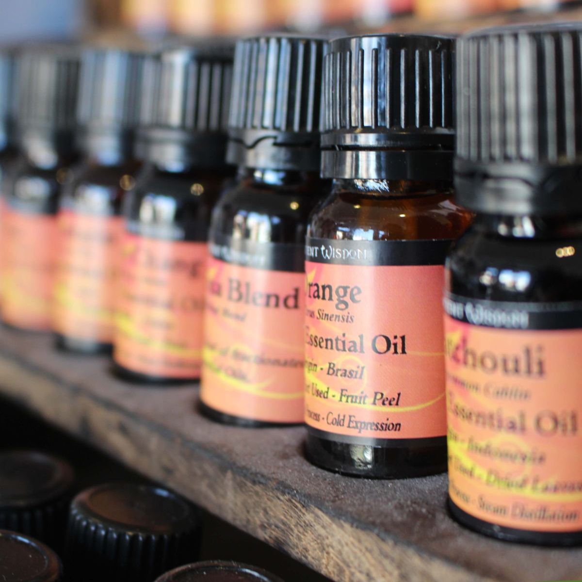 Essential oils can be used to promote healthy skin.