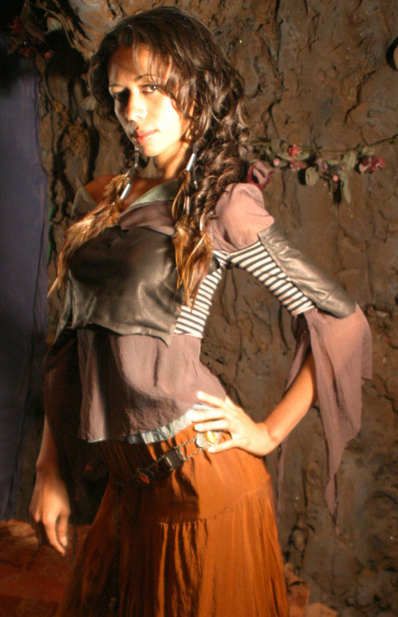 Example of the clothing sold at Gypsy Moon