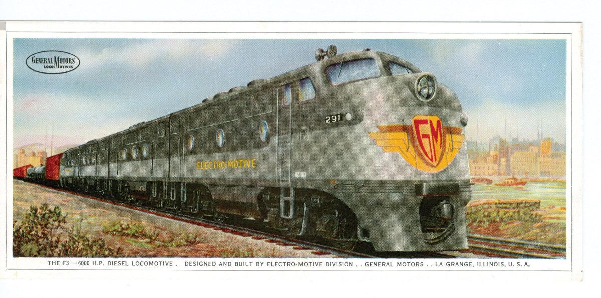 Streamline train