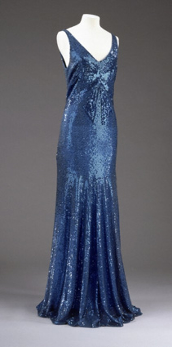 1932 Evening gown by Chanel