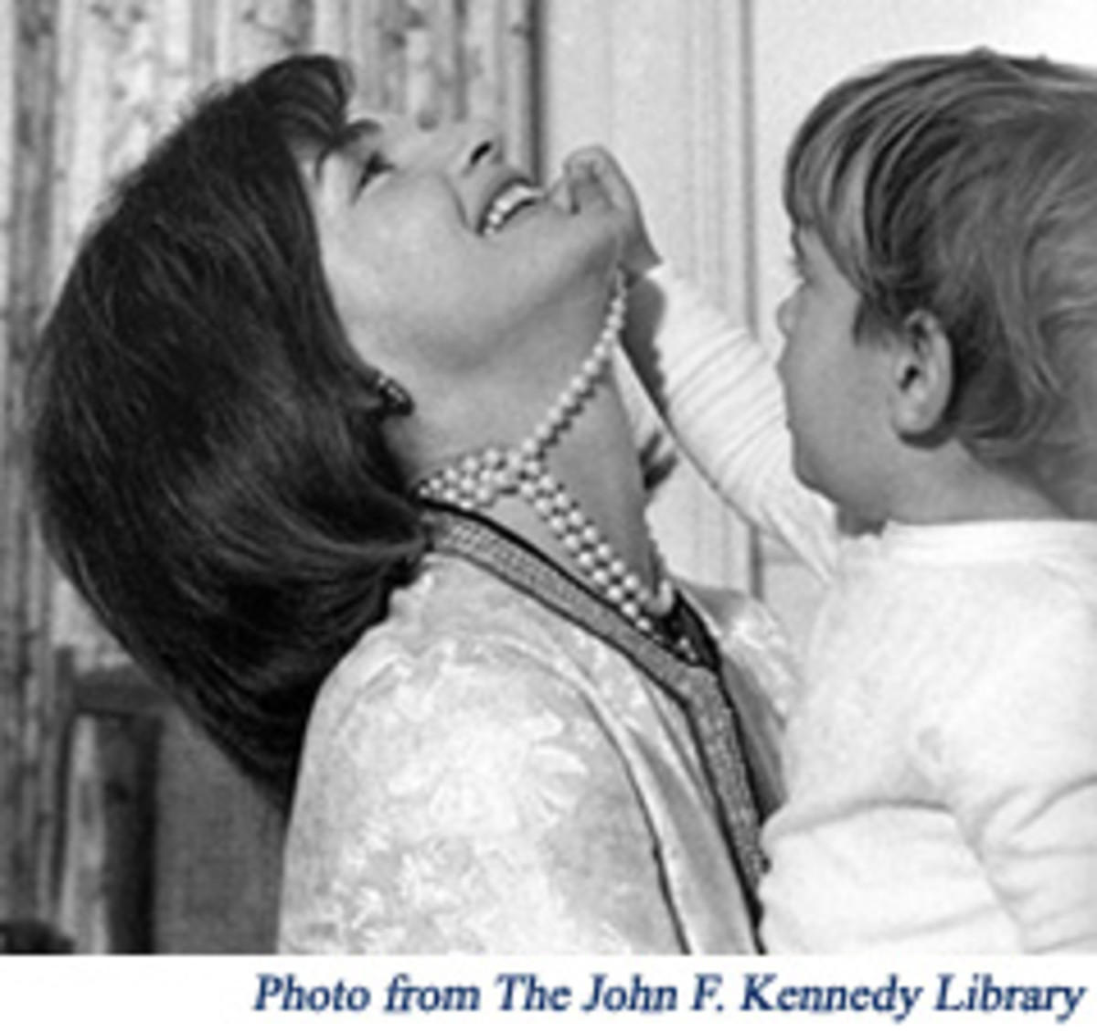 Jackie Kennedy showed that even casual moments could be stylish
