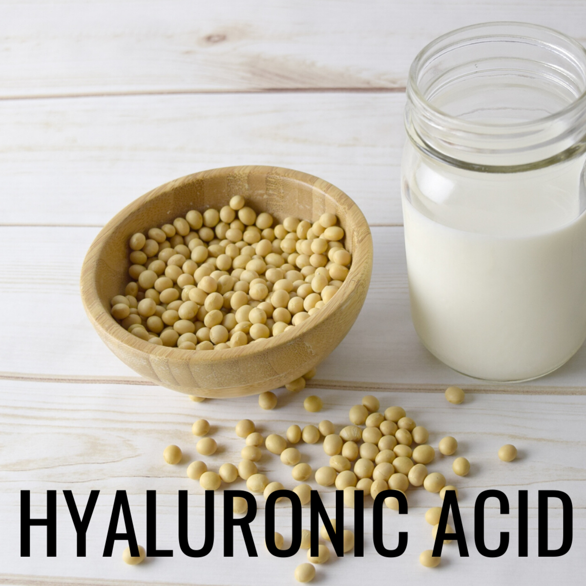 Hyaluronic acid helps to support tissue structure.