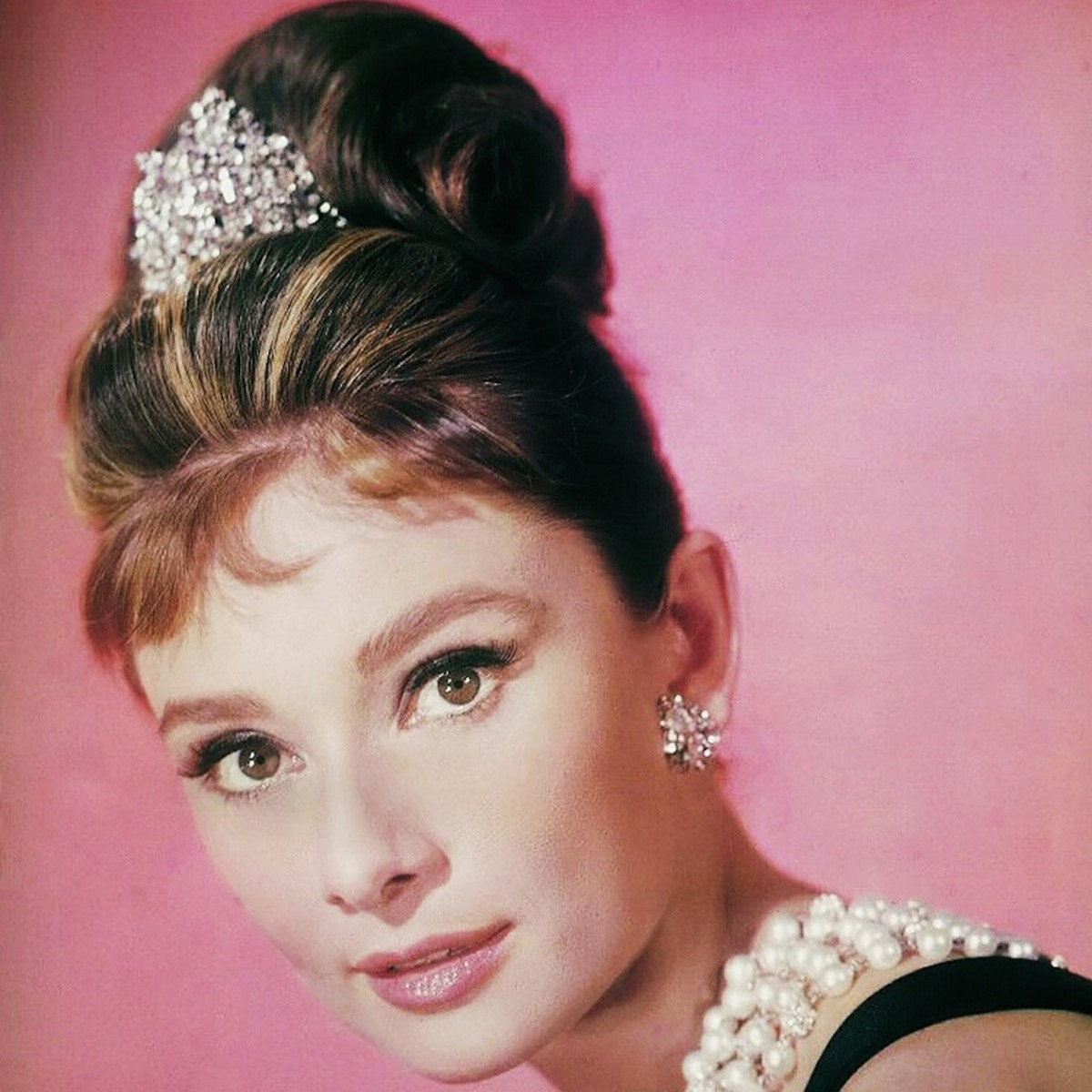 Audrey Hepburn is synonymous with the Little Black Dress.