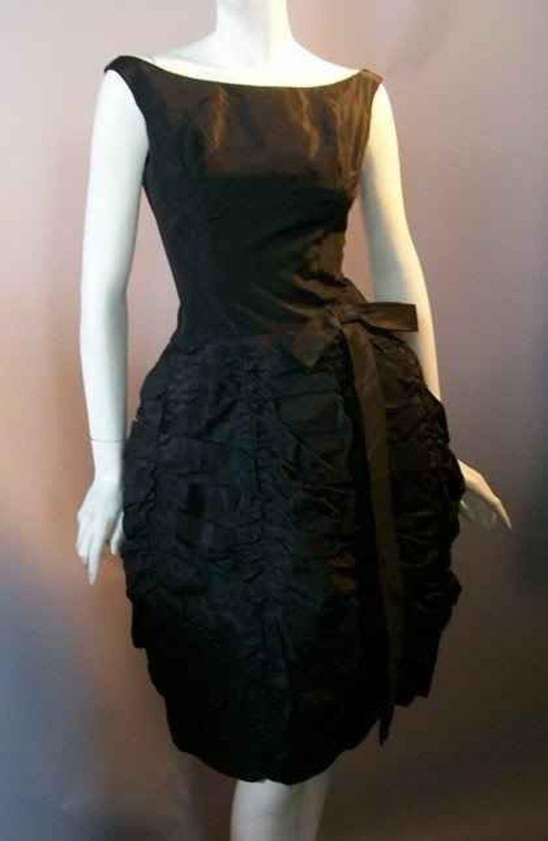 A classic, vintage dress.