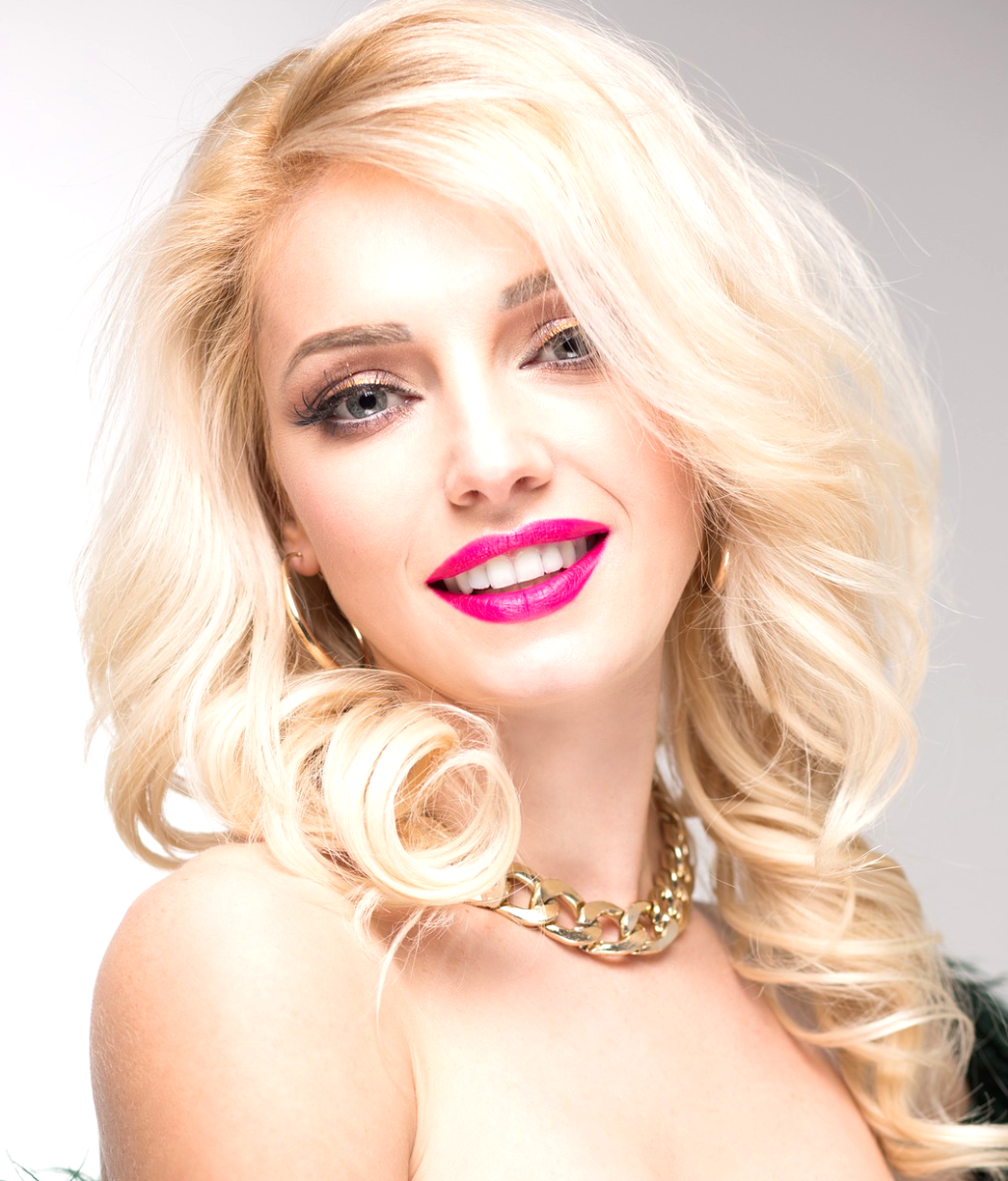 If you're blonde, you may find cool ash or beige tones more flattering than brown, which can have an aging effect.