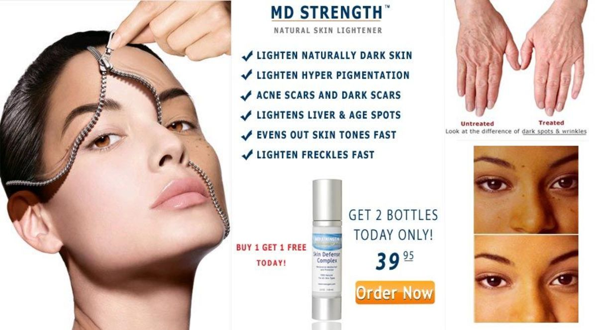 Skin lightening commercials are common in Asia