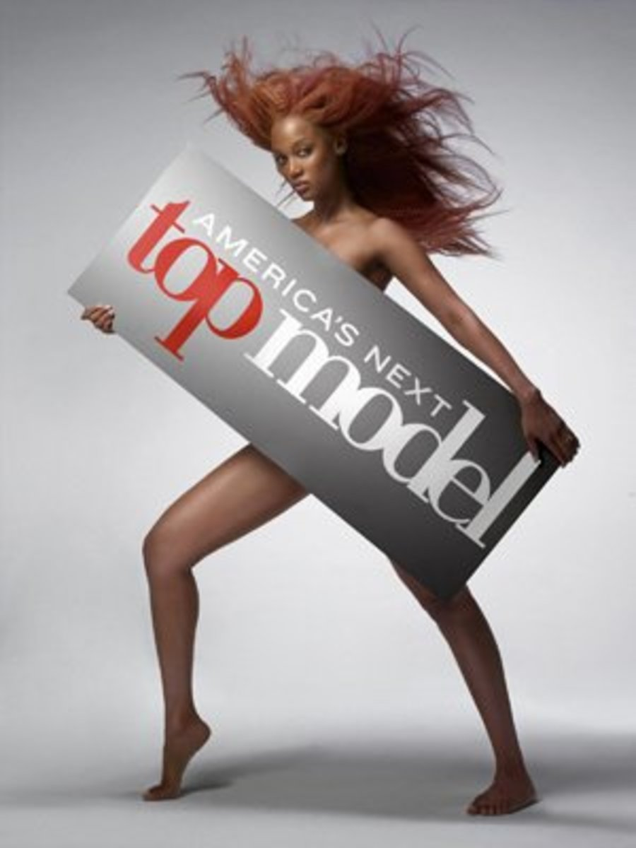 "Former model Tyra Banks searches for ""America's Next Top Model"""