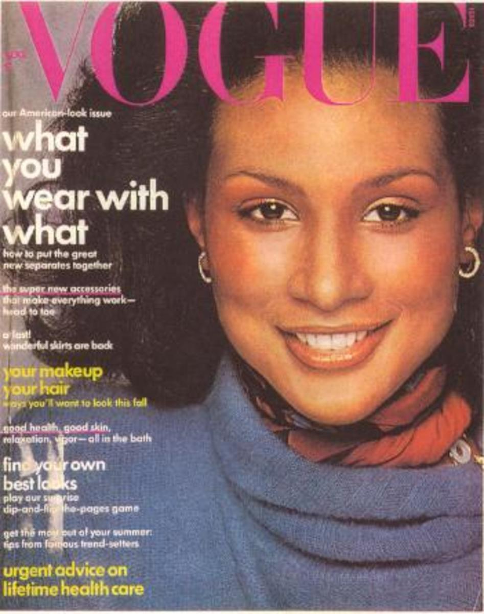 Beverly Johnson was the first African-American Vogue cover model