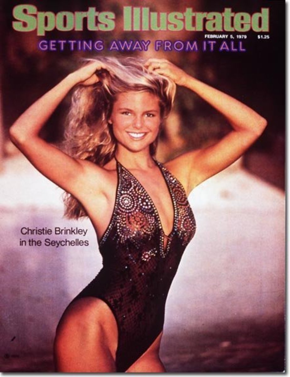 Christie Brinkley in 1979 Sports Illustrated swimsuit issue