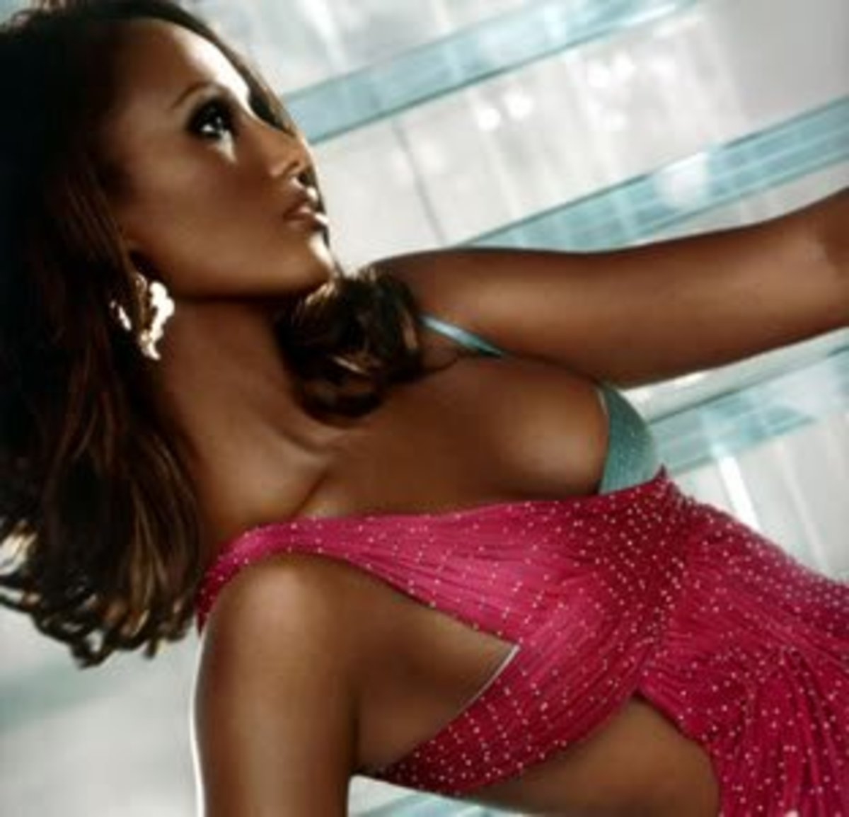 Iman was the first supermodel of color