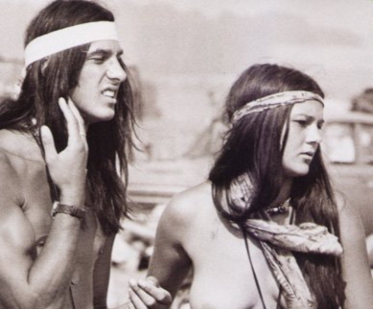 Peace, free love, and long hair was the hippie way of life.