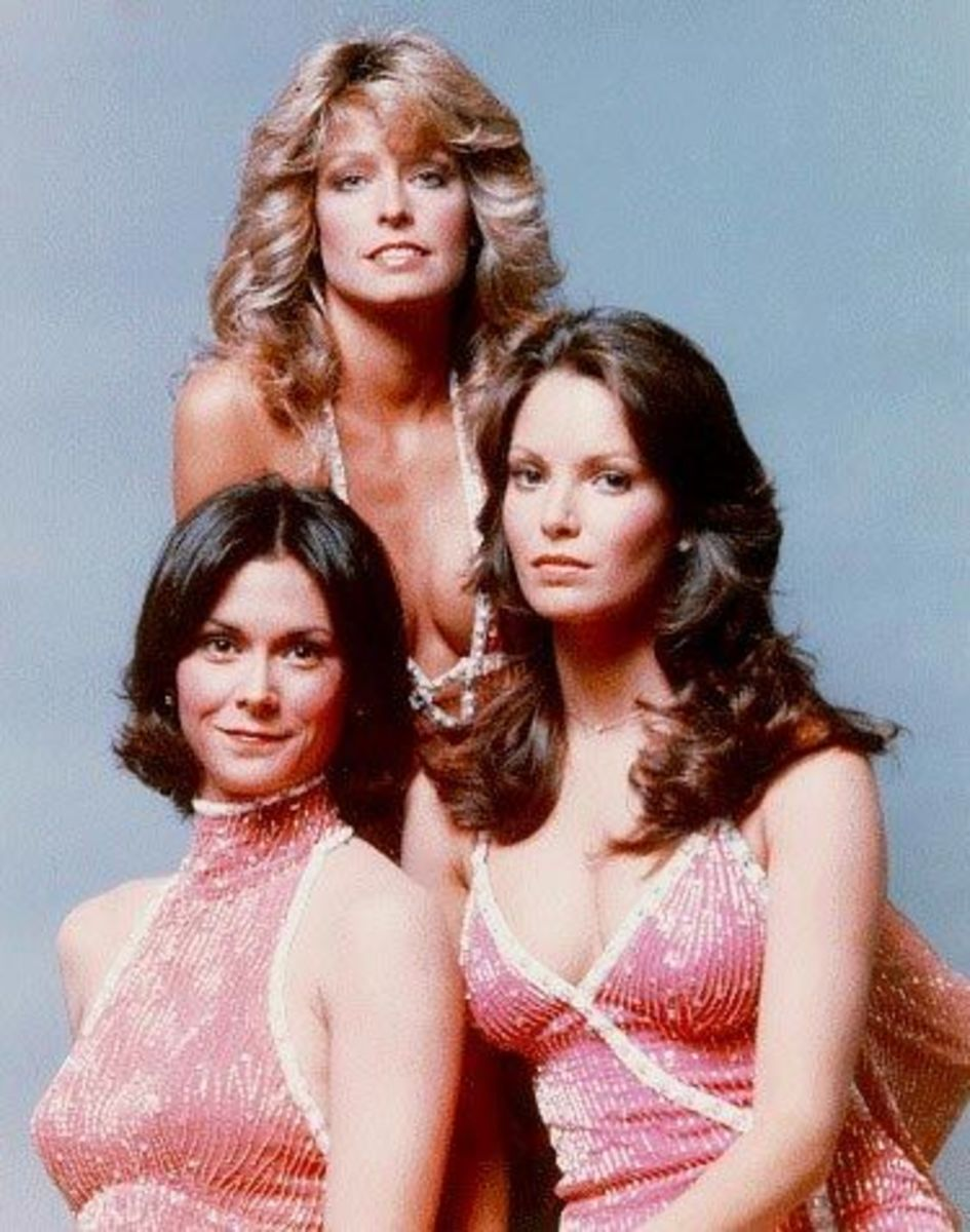 Charlie's Angels: every woman wanted to be them and every man wanted to date them!