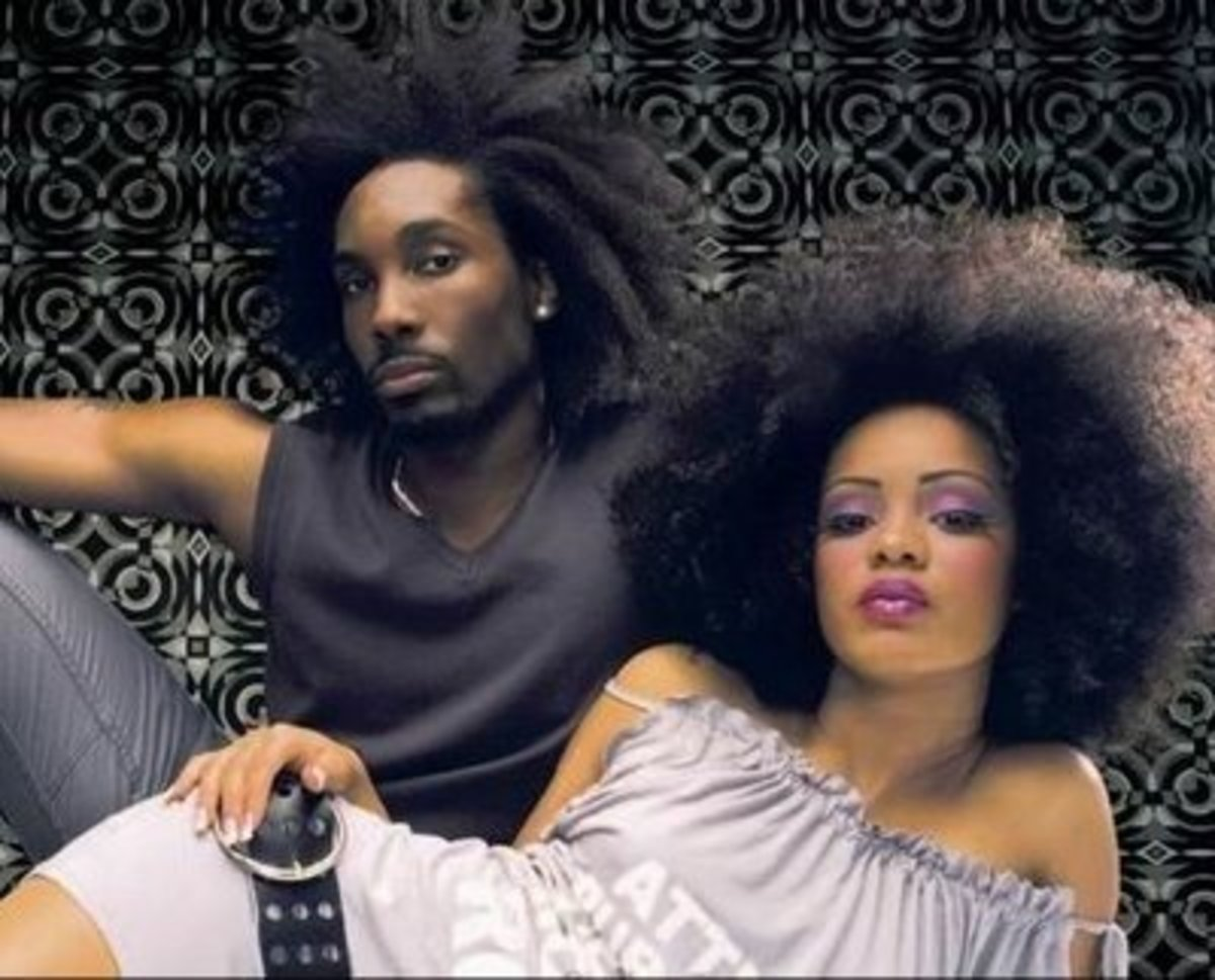 Afros made a statement of independence from conforming to white society.