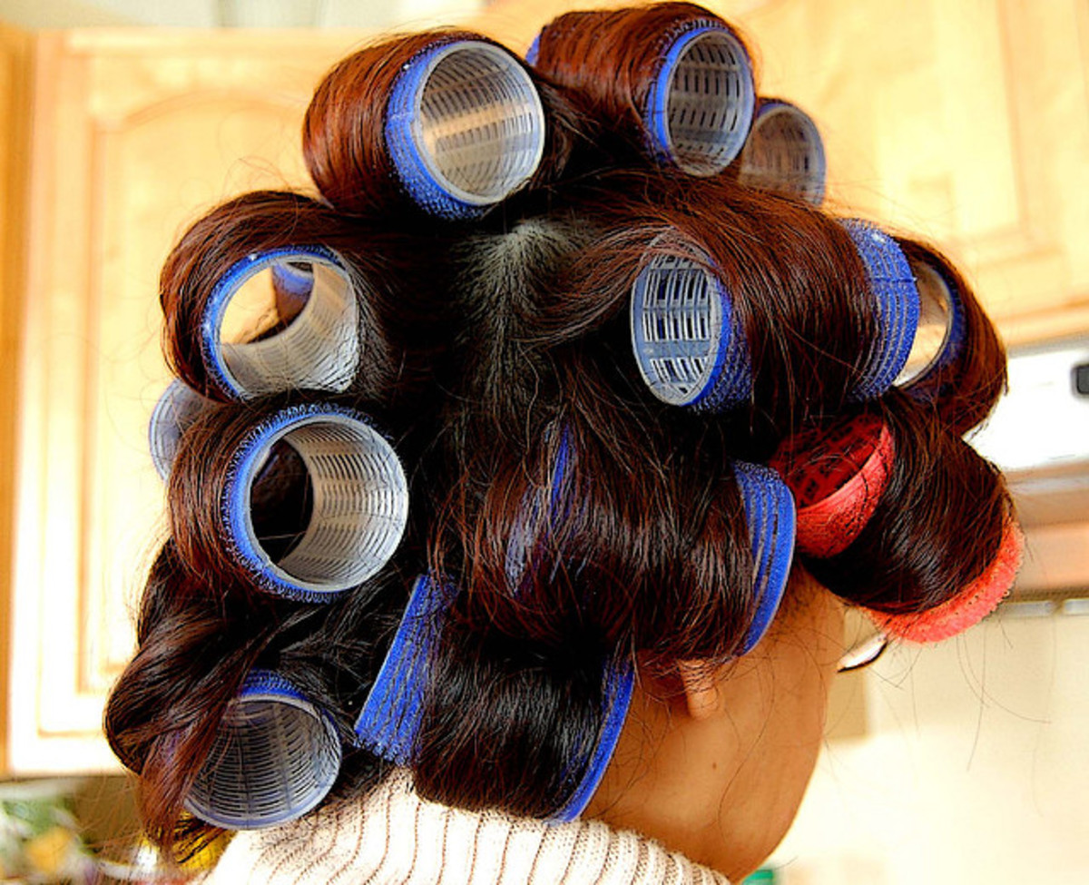 Velcro rollers are extremely simple to use and add almost no time to your morning routine.