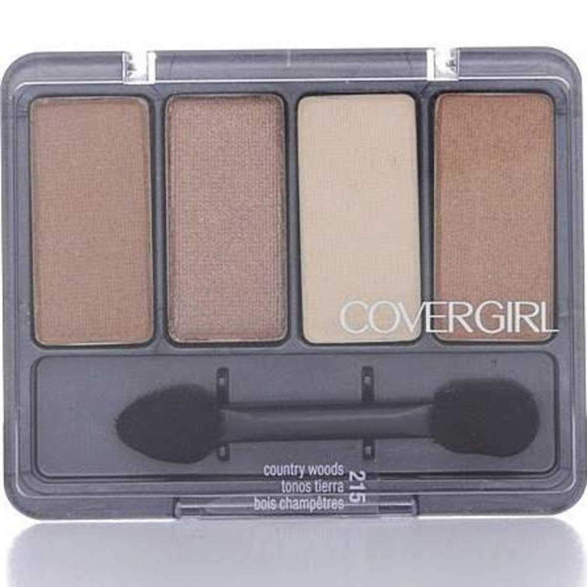 Covergirl's Country Woods palette is only around $4.00 and is perfect for an every day look.