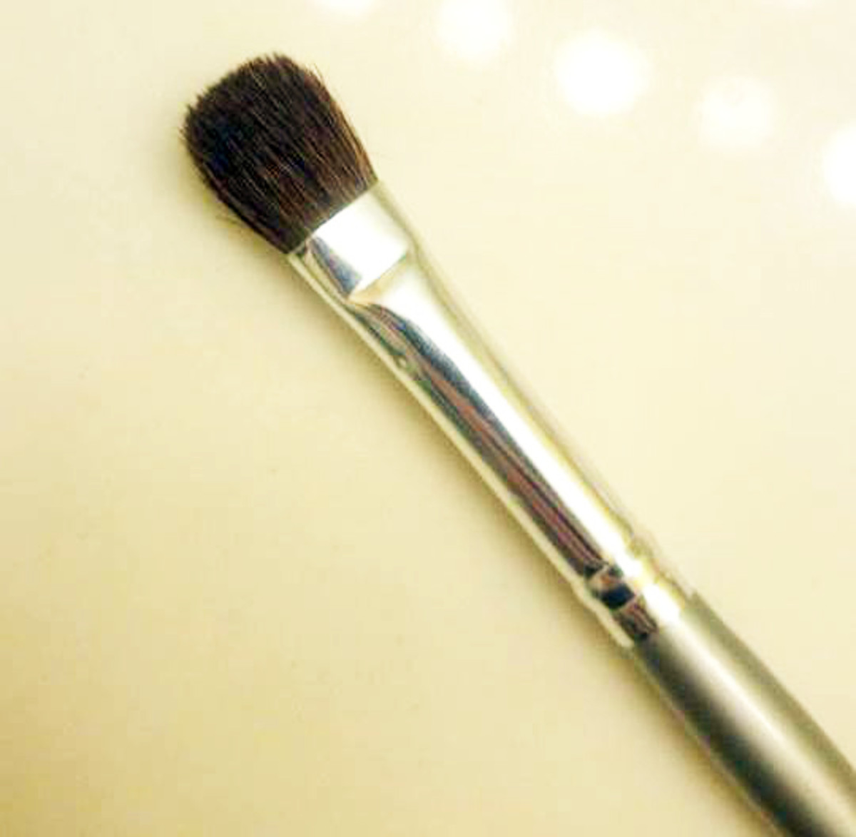 A blending brush will ensure you have no awkward harsh edges which wouldn't look natural for a simple everyday look.