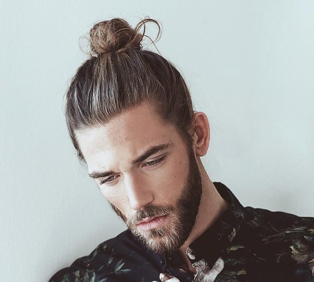 Manly Man Bun