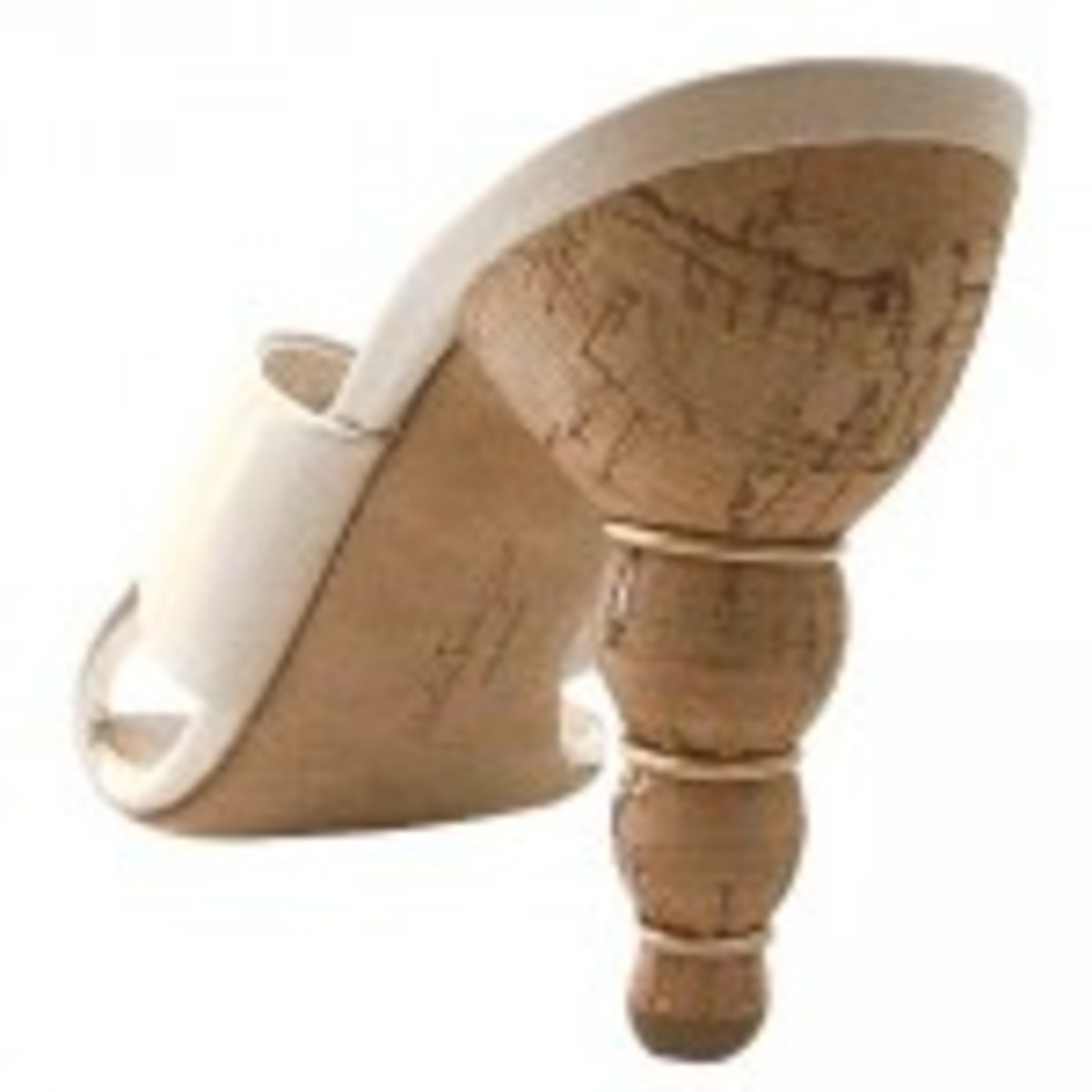Ferragamo was the first shoemaker to use cork for heels.