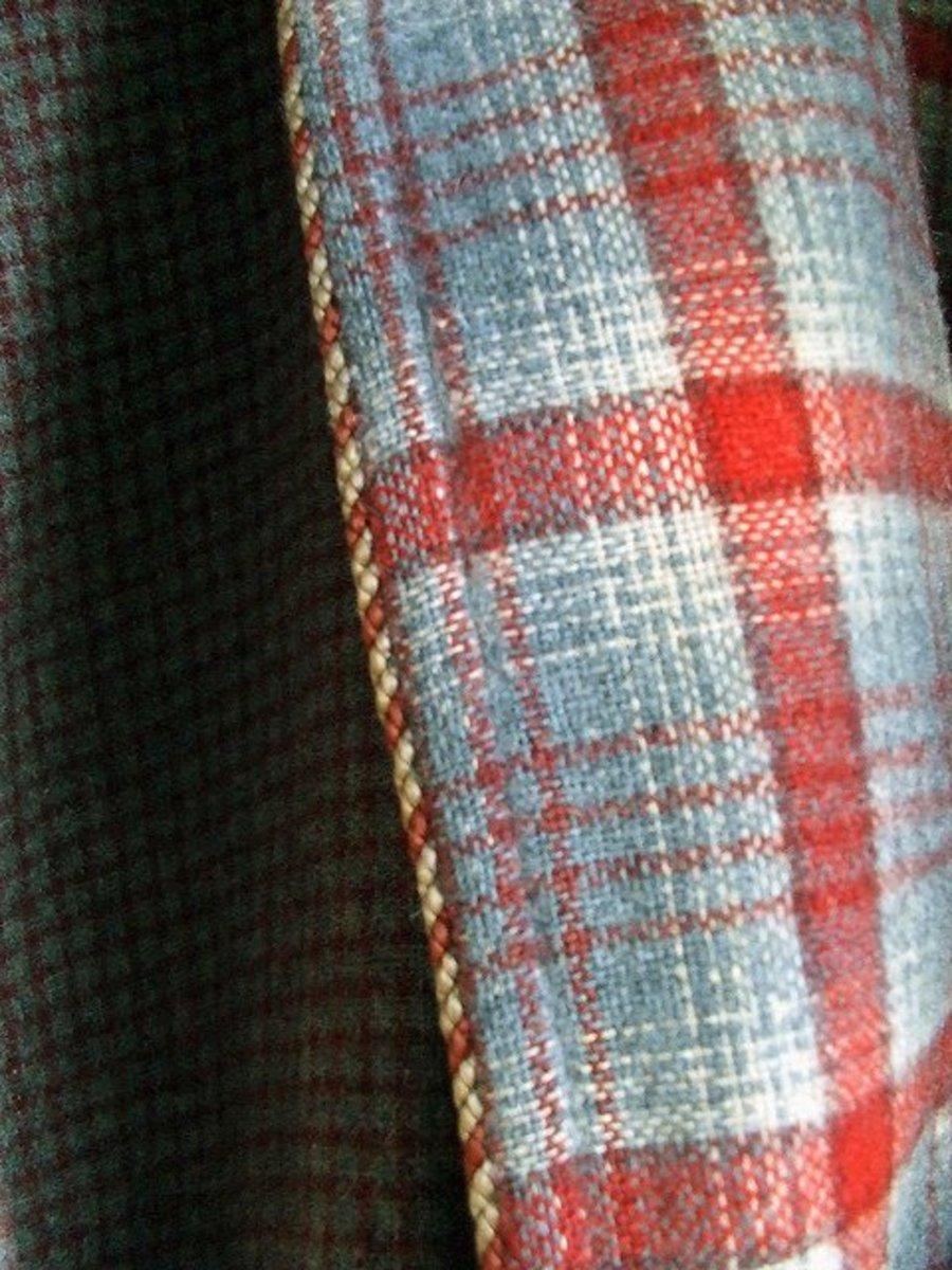 Woven fabric.