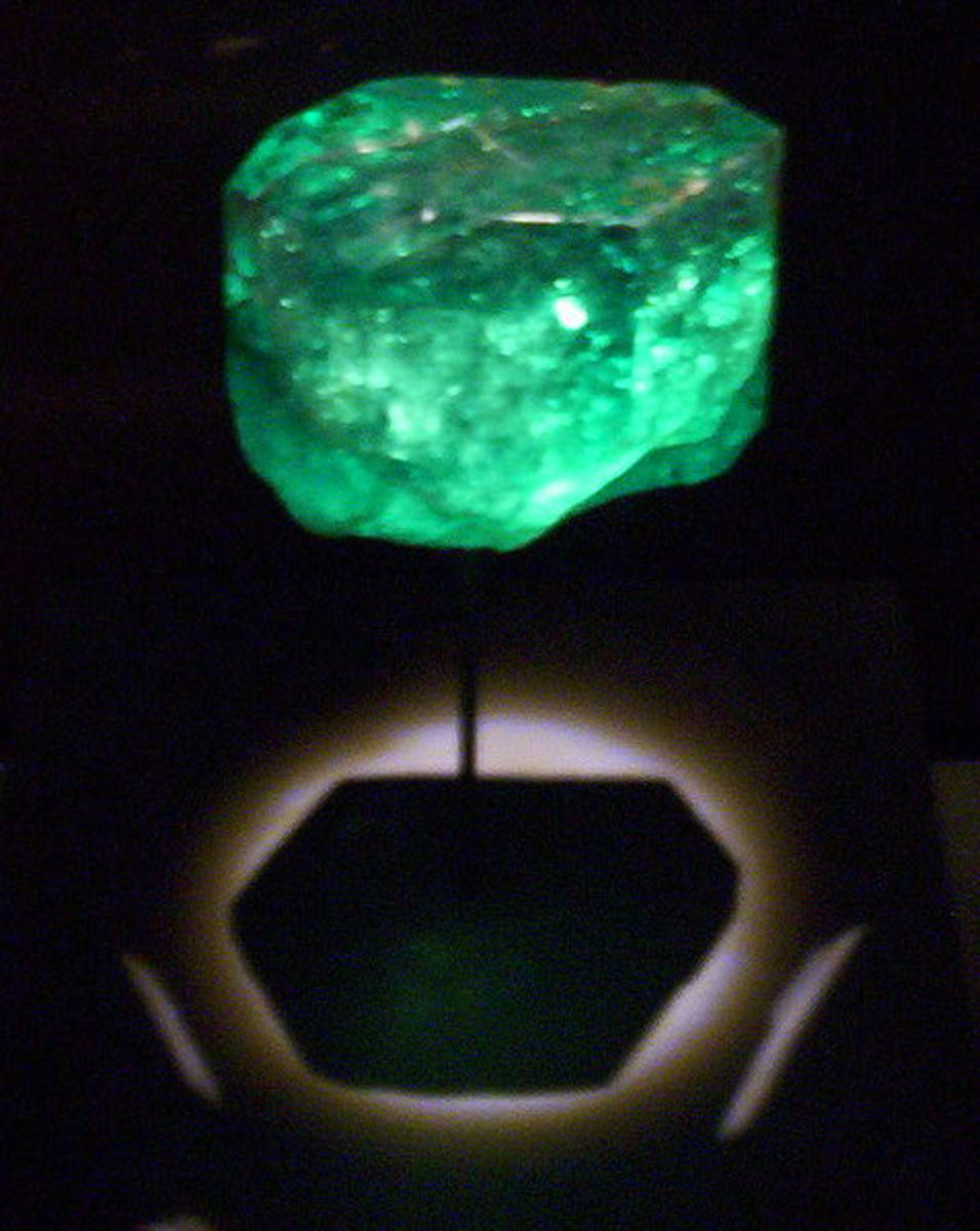 The Gachala Emerald is one of the largest emeralds in the world.