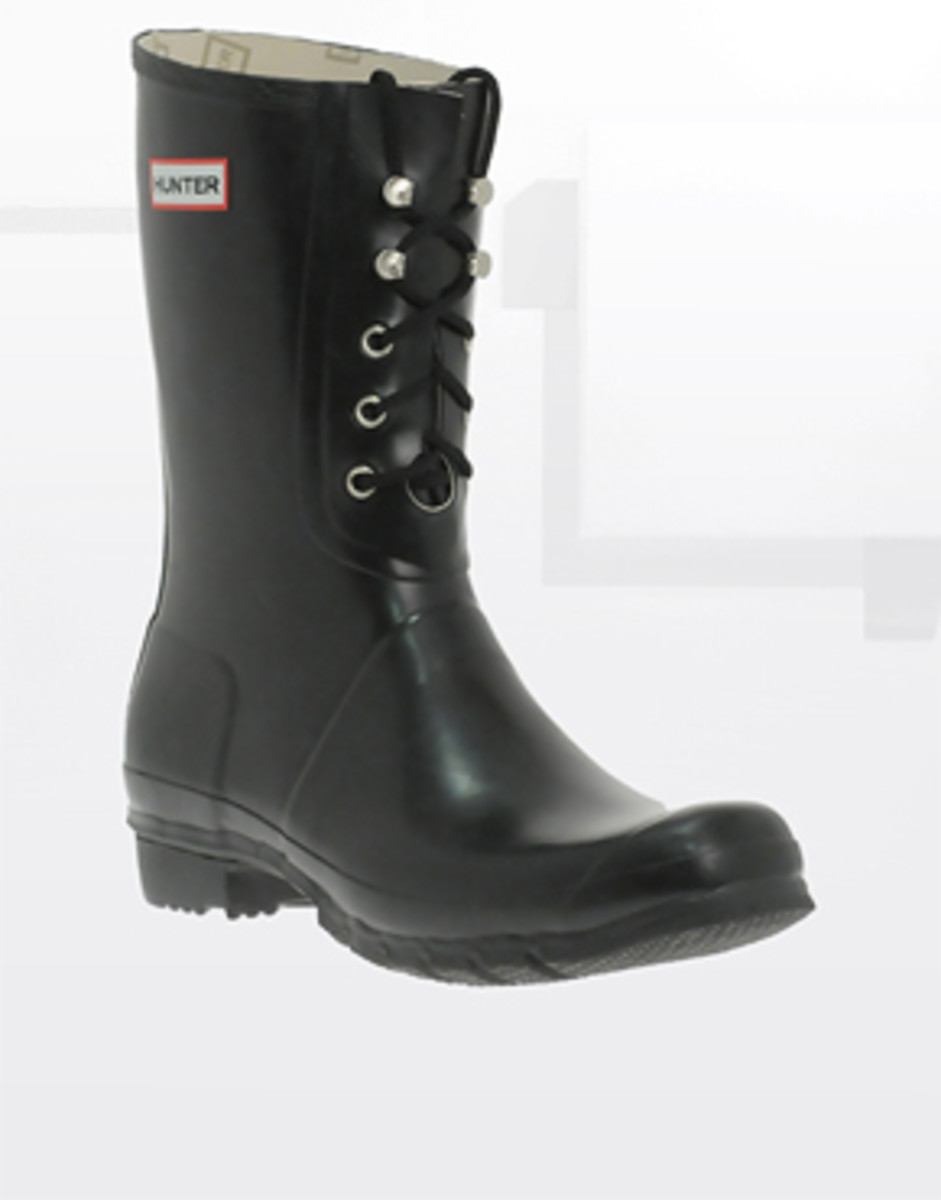 A Pair of Men's Hunter Wellies