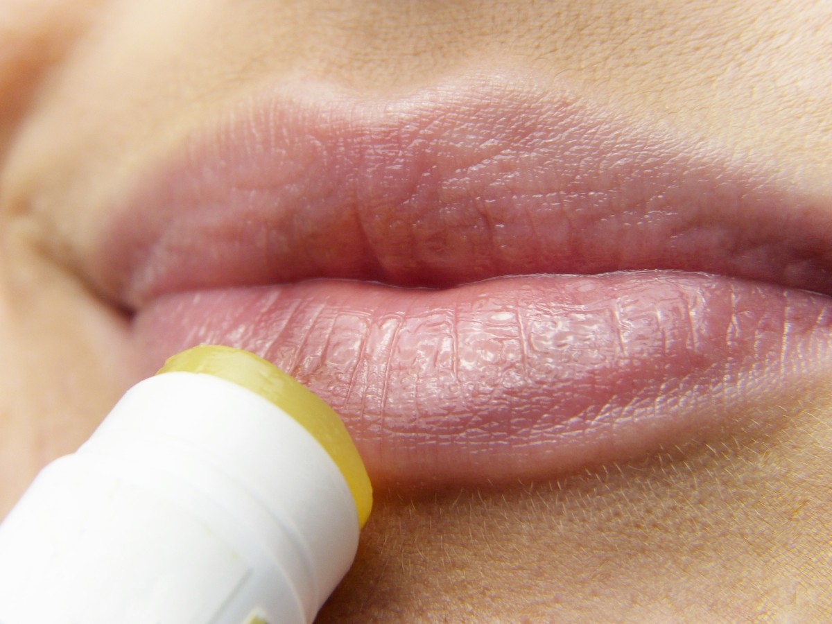 Lip balms keep moisture locked in, but they don't hydrate.