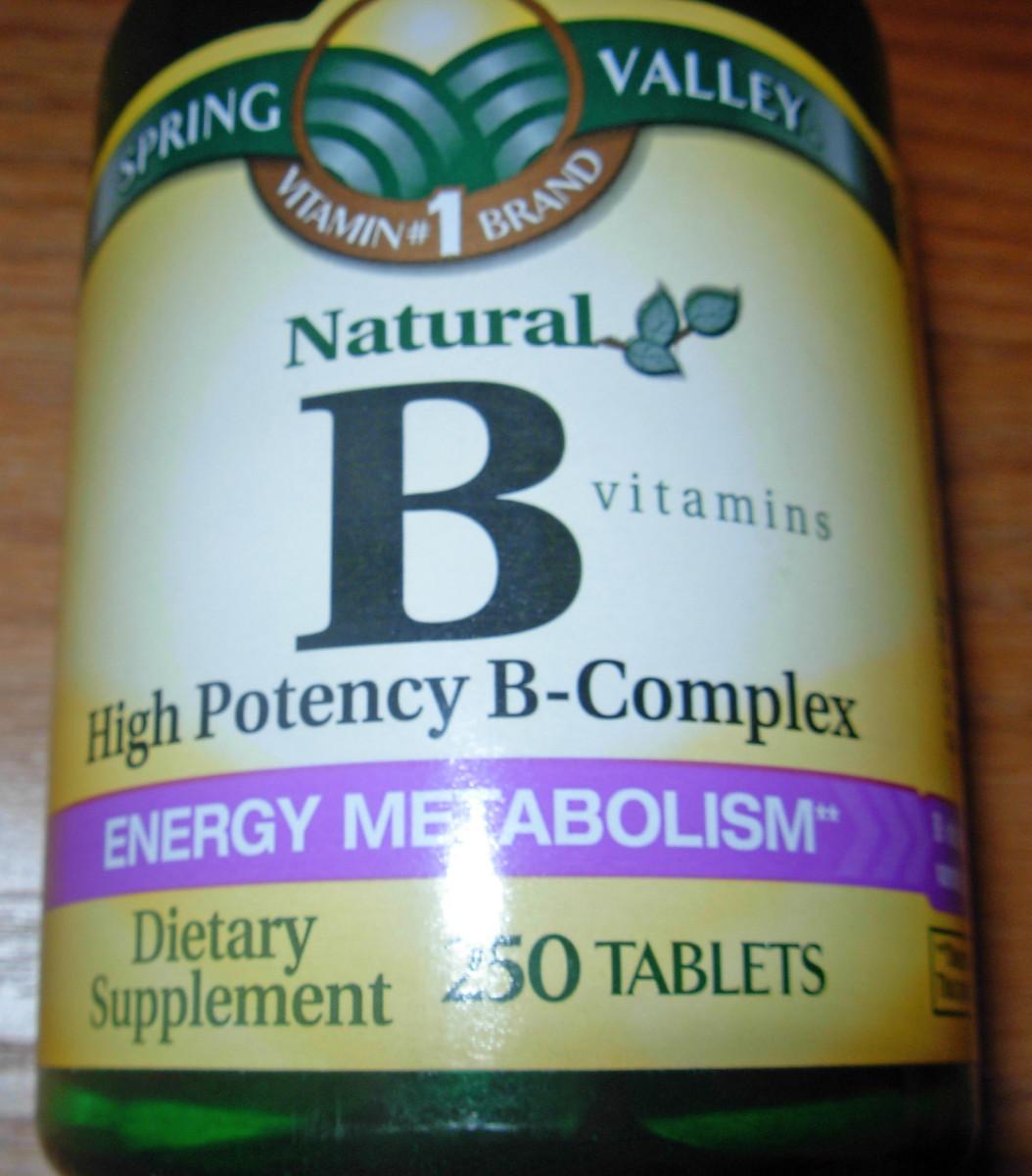 Vitamin B that contains Vitamin B12