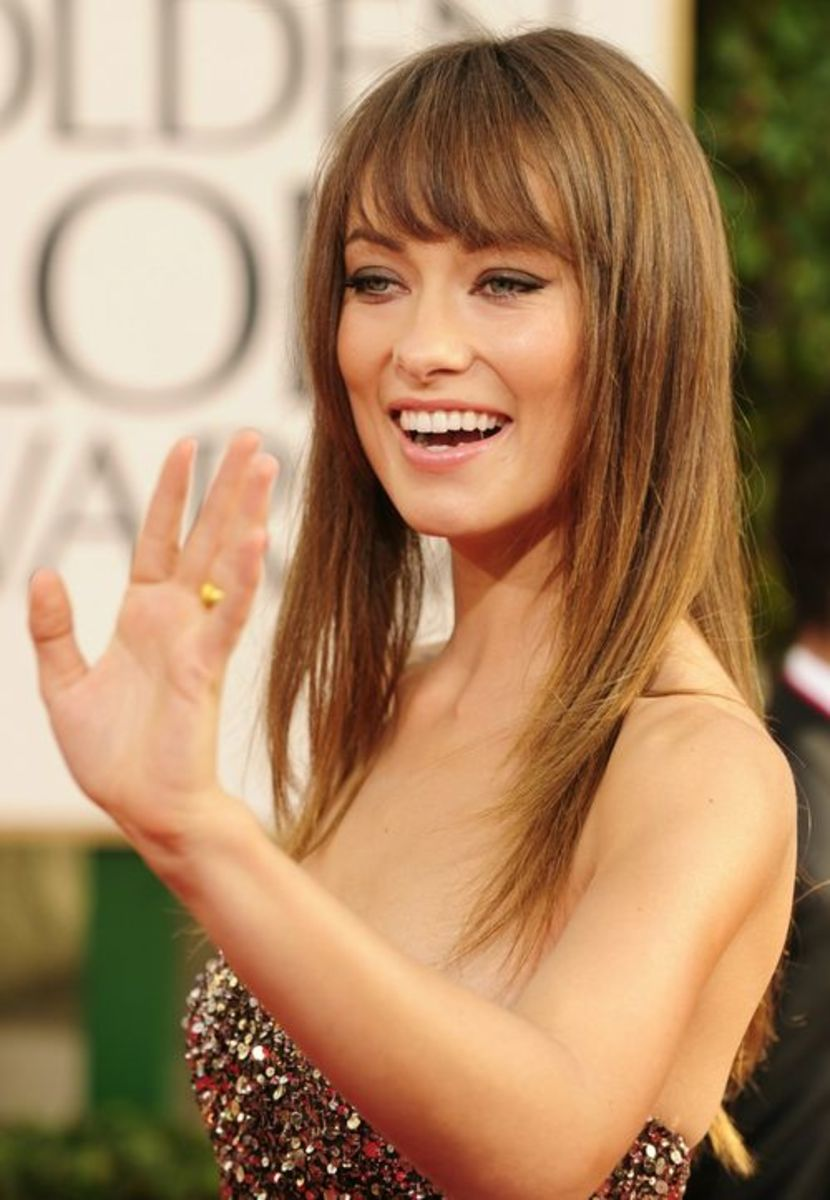 Olivia Wilde wears the French Girl look perfectly, and she is not French