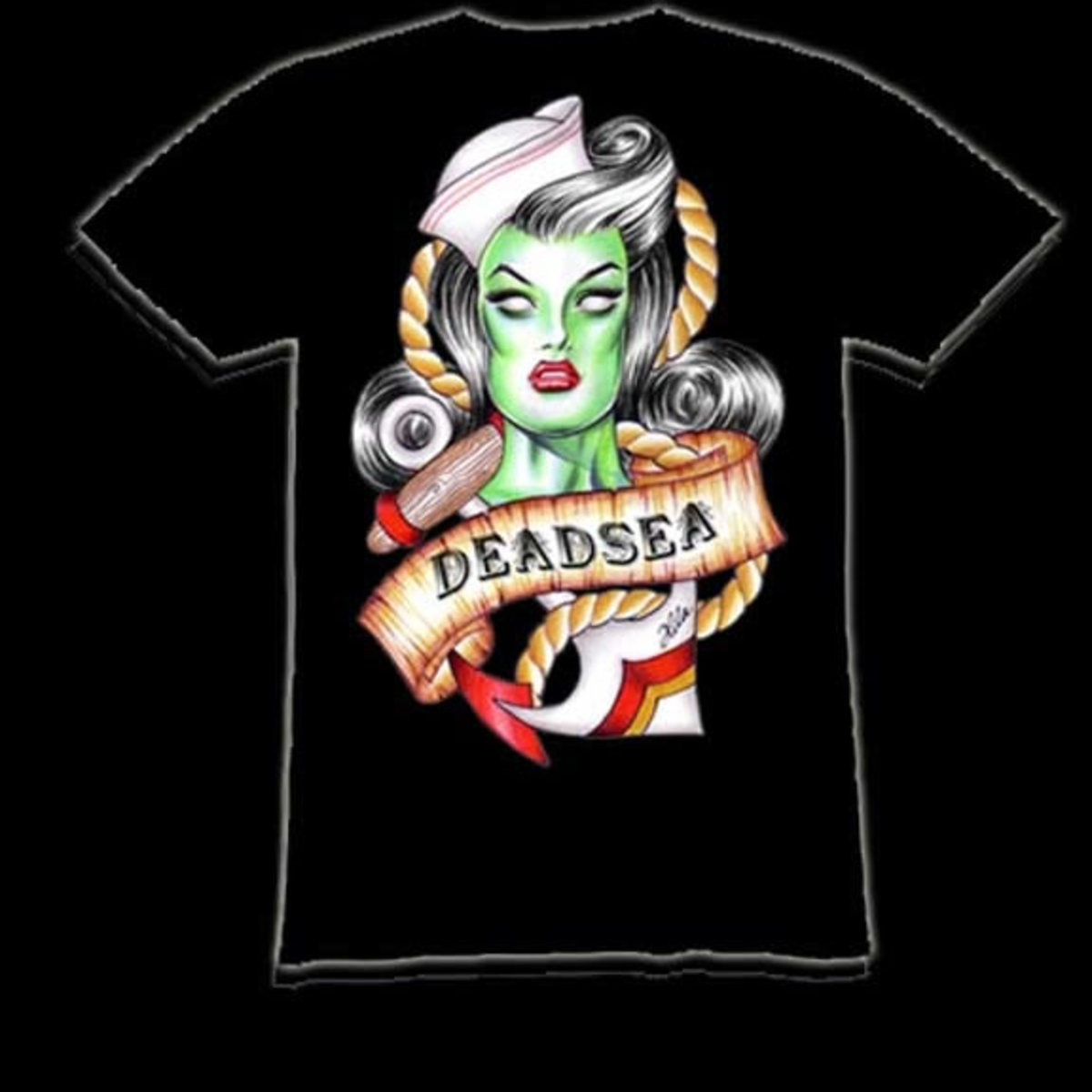 Hilary Jane Deadsea Tshirt on infectiousthreads.com.