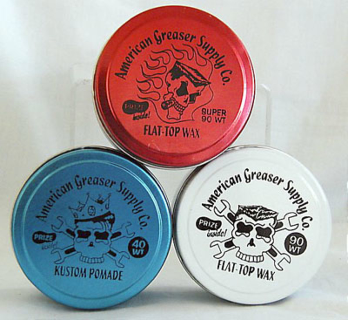 American Greaser pomade at 8ballwebstore.com for only $7.50.