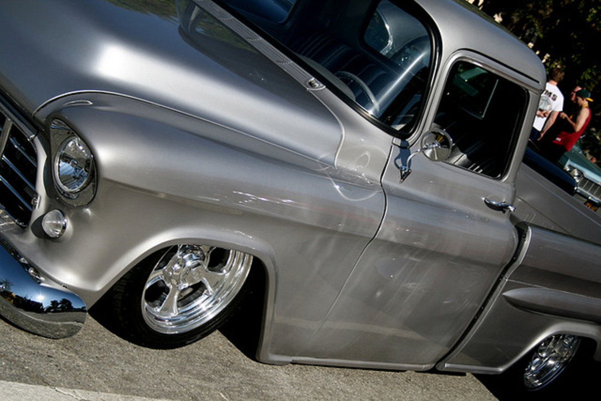 Drooling yet? Every rockabilly needs his hot rod...