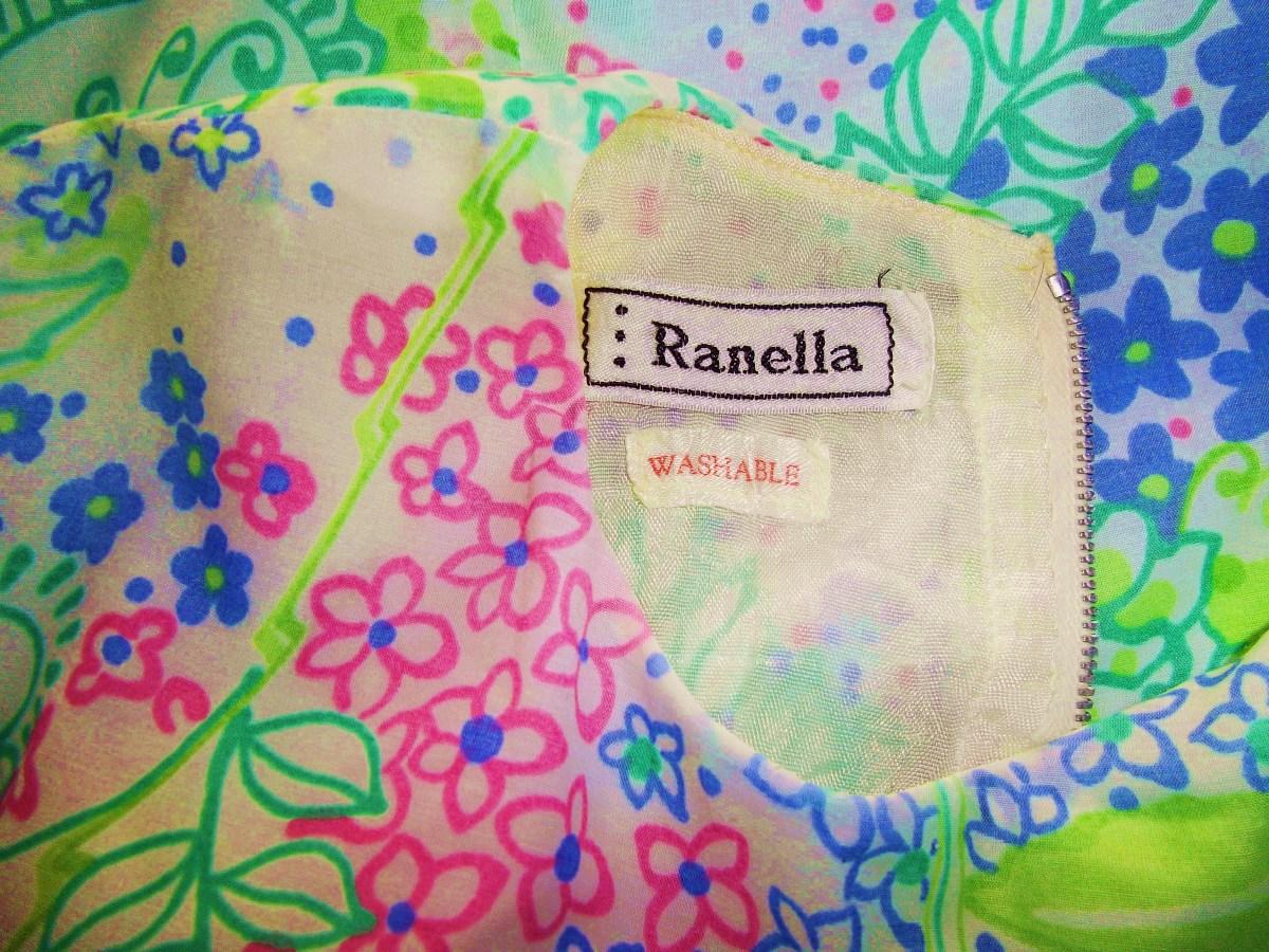 Vintage clothes label