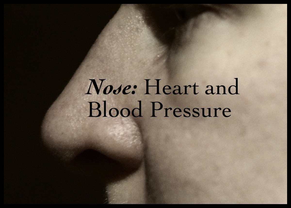 Nose inflammation is associated with poor heart health and high blood pressure.