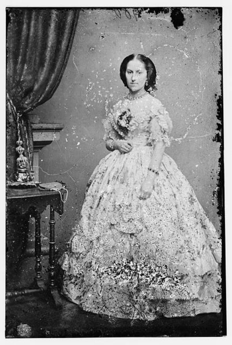 Women S Clothing Of The South In The American Civil War