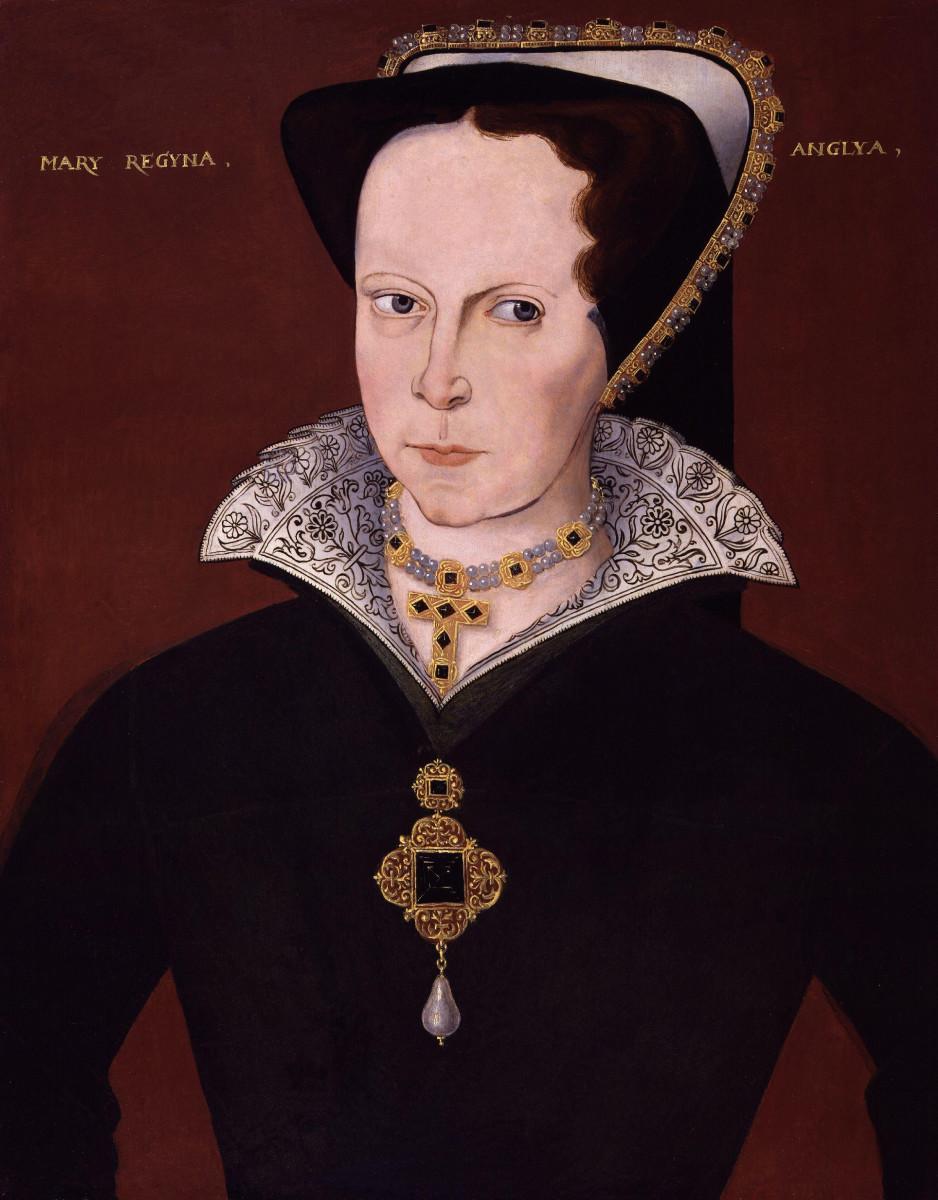 Woman wearing French hood