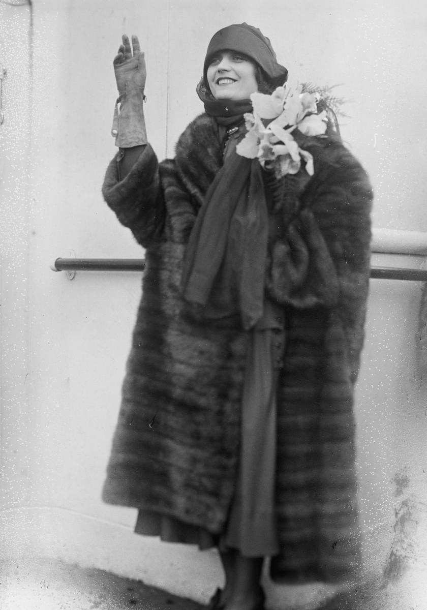 1927 Fur Coat