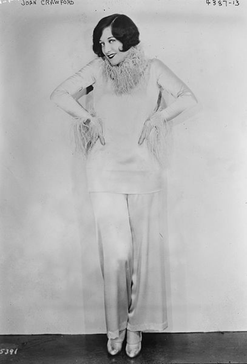 1927 - Joan Crawford in Hostess Pants From The US Library of Congress