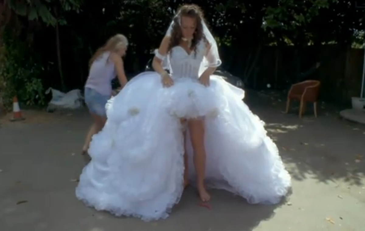 Gypsy Wedding Dresses Photos Amp Video Of Impressively Big