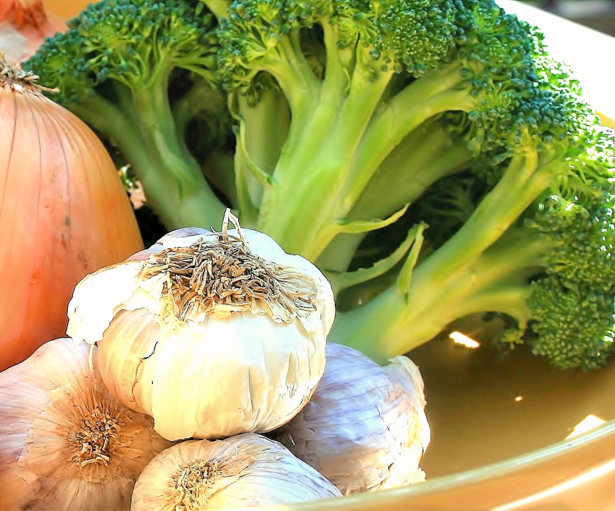 These vegetables contain high amounts of sulfur.