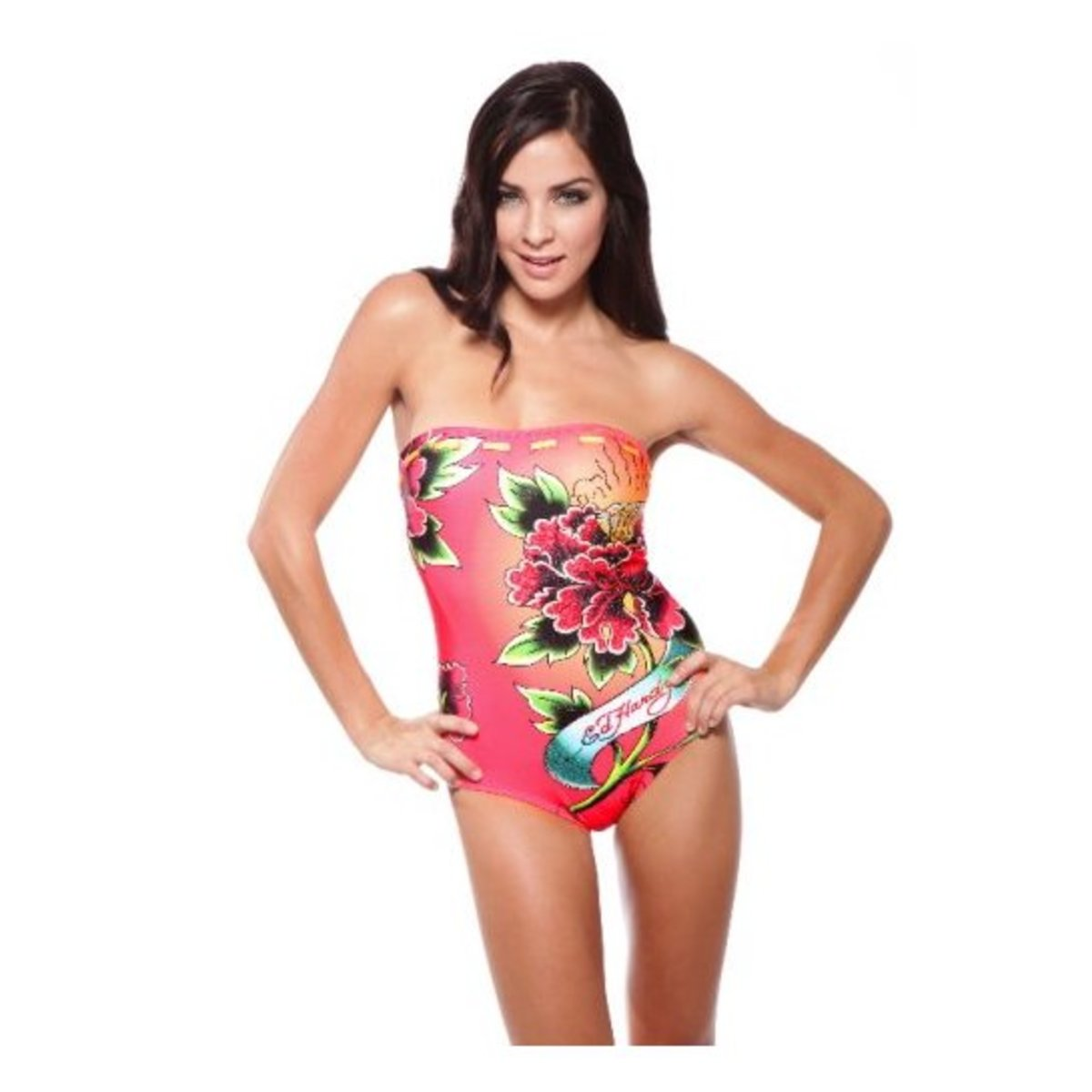 One Piece Swimsuit by Ed Hardy