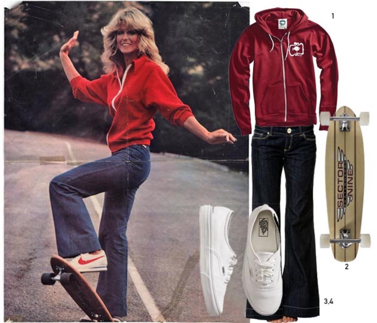 Farrah Fawcett '70s Style